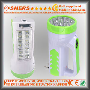 Rechargeable 15 LED Spotlight with 14 LED Desk Lamp (SH-1954) pictures & photos