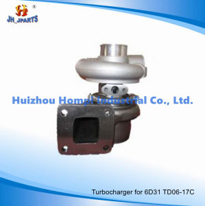 Turbocharger for Mitsubishi Kato 6D31 Td06-17c Sk200-1 Me008256 49179-02110 pictures & photos