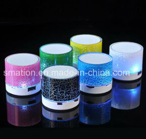 LED Wireless USB Mobile Portable Wireless Mini Sound Music Bluetooth Speaker pictures & photos