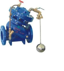 (F745X) Double Chamber Automatic Hydraulic Float Ball Water Level Control Valve pictures & photos
