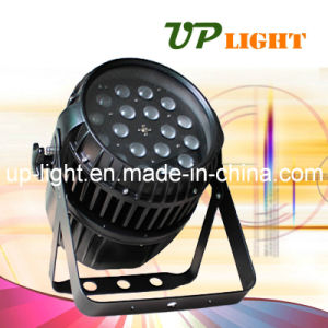 Waterproof 18PCS 10W RGBW Zoom LED PAR Lighting pictures & photos