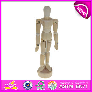 Wooden Drawing Manikin Toy for Sale, Rotatable Human Boday Wooden Drawing Manikin Art Manikin Wooden Manikin W06D041-a pictures & photos