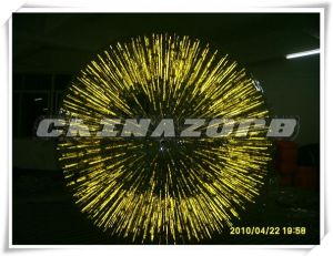 Gorgeous Fully Yellow Color Glowing Inflatable Zorb pictures & photos