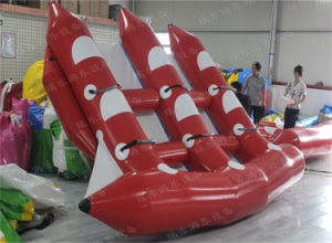 1.0mm PVC High Quality Inflatable Water Fly Fish Water Toys/ Inflatable Surfing Flying Fish pictures & photos