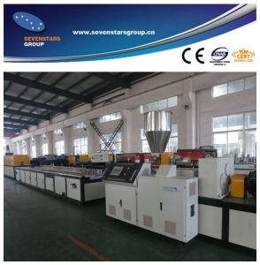 Two Cavity PVC Ceiling Panel Production Line pictures & photos
