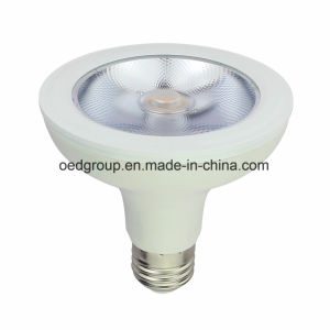 AC100-240V 12W PAR30 LED Bulbs with White Case and COB LED Chip Ra. >80 pictures & photos