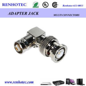 BNC L Type One Plug One Jack Adapter pictures & photos