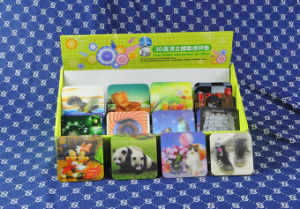 Popular Waterproof 3D Effect Plastic Cup Mat pictures & photos