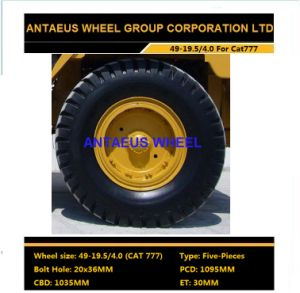 Caterpillar Wheel Rim 49-19.5/4.0