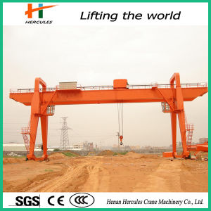 Heavy Duty Double Girder Gantry Crane for Construction pictures & photos