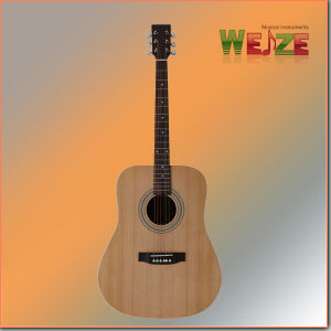 Spruce Sapele Plywood Acoustic Guitar pictures & photos
