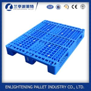 Warehouse Rack Use 4 Way Entry Type HDPE Made 3 Skids Plastic Pallet pictures & photos