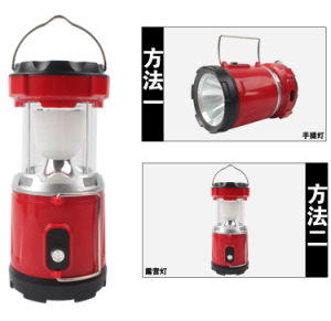 Outdoor Portable Solar LED Camping Light pictures & photos