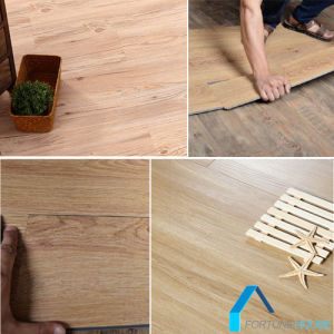 Warranty Health Natural Wood Waterproof PVC Flooring Price in India pictures & photos