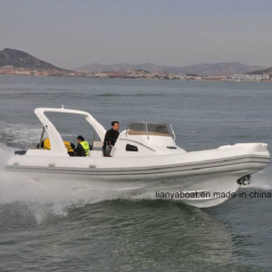 Liya 8.3m Steering Console Boat Inflatable Cabin Rib Boat pictures & photos