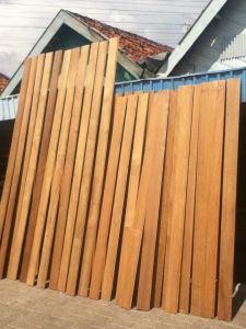 Long Service Life Teak Decking Boards