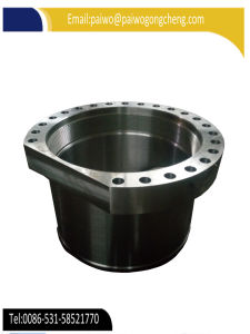 Hot Forging CNC Machining 1040 1045 4130 4140 Material Sleeve pictures & photos