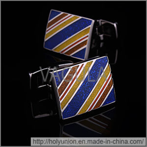 VAGULA Cuff Links Luxury Twill Cufflinks pictures & photos