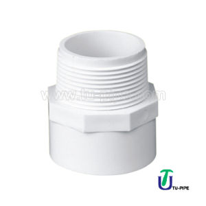 UPVC Male Adapters ASTM D2466 pictures & photos