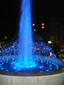 Water Fountain in Pond with LED RGB pictures & photos