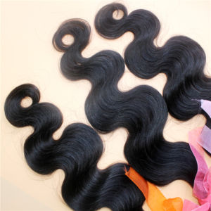 Body Wave Natural Color 9A Brazilian Virgin Human Hair Extension pictures & photos