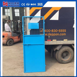 2 PCS Construction Elevator Safety Door for Construction Site pictures & photos