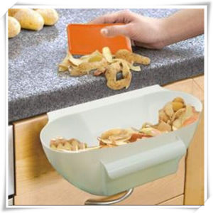 Kitchen Tool Plastic Handy Scrap Bowl for Kitchen Waste (VK14018)
