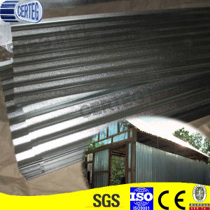 Galvanized Corrugated Gi Steel Roofing Sheet (RS015) pictures & photos