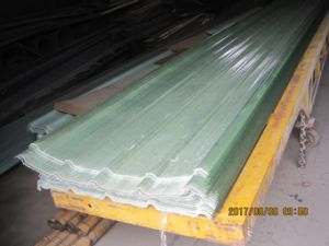 Clear FRP Corrugated Roofing Sheets, Fiberglass Plastic Roof Panels