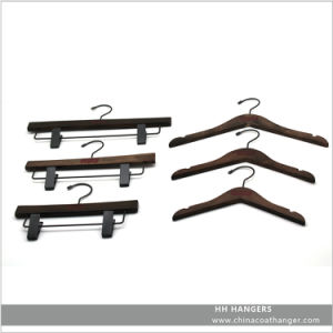 Rose Copper Gold Wire Metal Coat Hanger for Suit, Pet Coated Wire Hanger pictures & photos