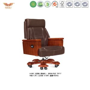 Wooden Office Furniture Ergonomic Executive Chair (A-066) pictures & photos