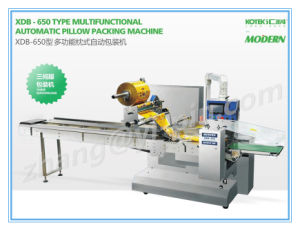 Toast Pone Johnnycake Hoecake Big Size Food Packing Machine 650 Packaging Machine pictures & photos