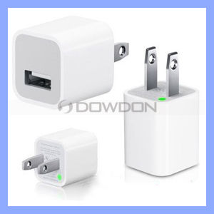 Us 5V 1A USB Power Adapter Wall Charger for iPhone 7 pictures & photos