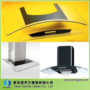 Screenprinting Cooker Hood Glass with Tempered pictures & photos