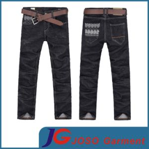 New Black Denim Men Jeans (JC3245) pictures & photos