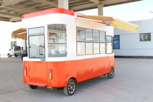 Moving Restaurant Car with Full Set of Equipment for Show pictures & photos