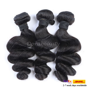 Drop Shipping Brazilian Human Virgin Remy Hair Weft pictures & photos