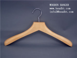 Wholesale Price Wooden Doll Hanger, Wooden Clothes Hangers for Jeans pictures & photos