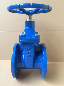 DIN cast iron PN16 soft seat gate valve pictures & photos