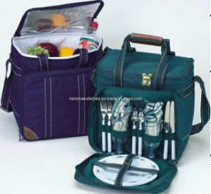 Picnic Bag with Dinnerware pictures & photos