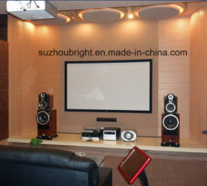 Home Theater Acoustical Projector Screen pictures & photos