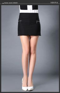 Wholesale Cheap Price Office Ladies Short Skirt for Women pictures & photos