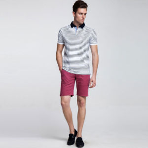 Mens Stripped Polo Shirts in 100%Cotton Material pictures & photos