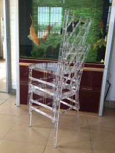 New Resin Clear Tiffany Chairs for Events pictures & photos