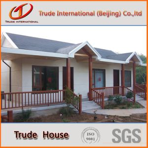 Color Steel Sandwich Panels Mobile/Modular/Prefab/Prefabricated Comfortable Living Villa pictures & photos