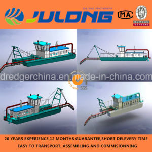 China Cheap 14inch Hydraulic Jet Suction Dredger for Sale