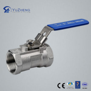 Stainless Steel 1PC Ball Valve with Lock NPT, BSPP. BSPT pictures & photos