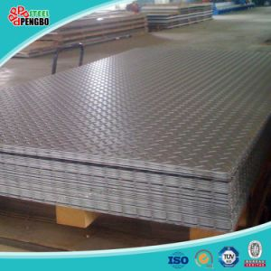 304 Stamping Patterned Stainless Steel Sheet pictures & photos