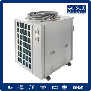 Thermostat 32deg. C for 20~300cube Meter Pool Cop4.62 Titanium 12kw/19kw/35kw/70kw/105kw Air to Water Swimming Pool Heat Pump pictures & photos