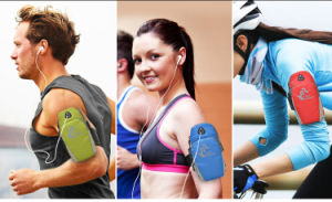 Jogging Protective Waterproof Phone Bag Sports Wrist Arm Bag pictures & photos